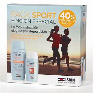 ISDIN PACK SPORT FUSION GEL 200 + FUSION WATER 50 ML